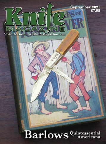 KNIFE Magazine September 2021