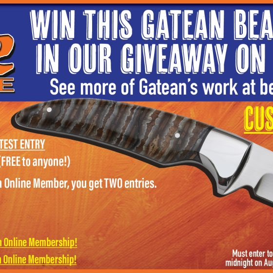 Beauchamp Knives Giveaway