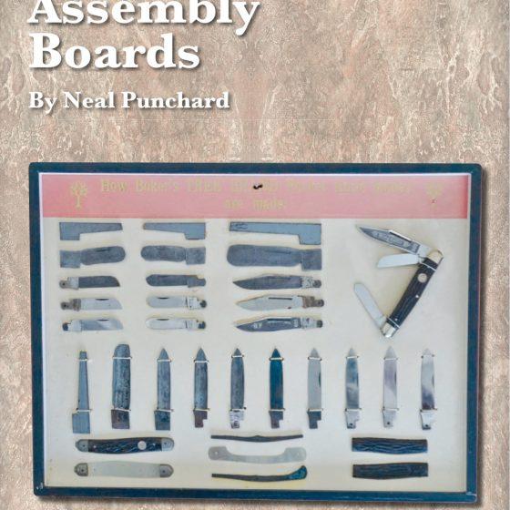Pocket Knife Assembly Board