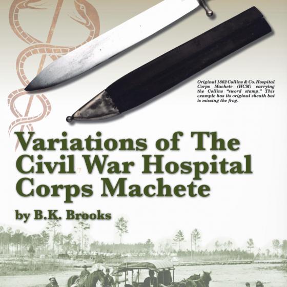 Hospital Corps Machete