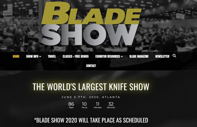 Blade Show Coronavirus