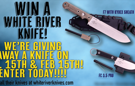 White River Knives Giveaway