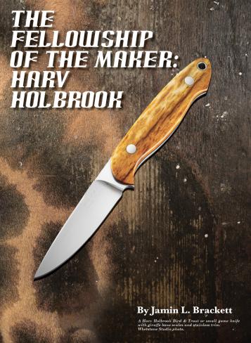 Harv Holbrook Knives