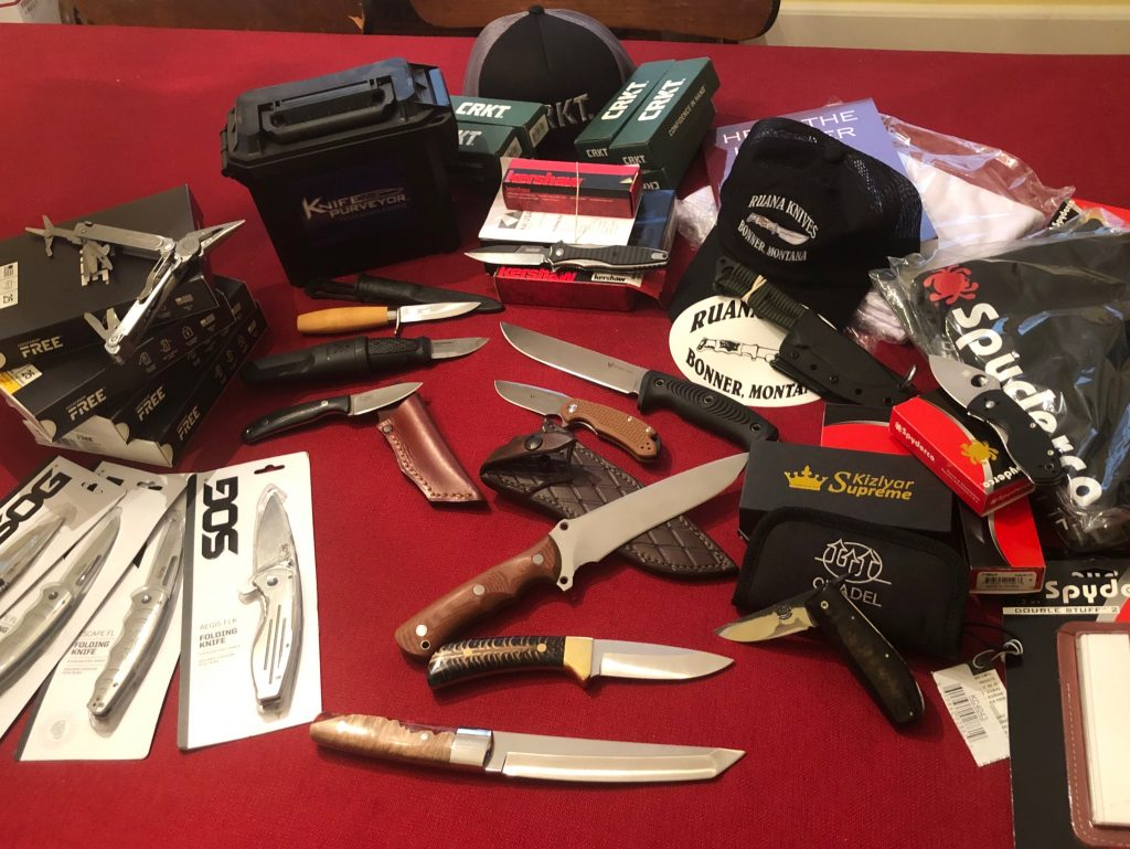 100 knives in 100 days